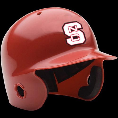 NC State Wolfpack Red Mini Baseball Batters Helmet
