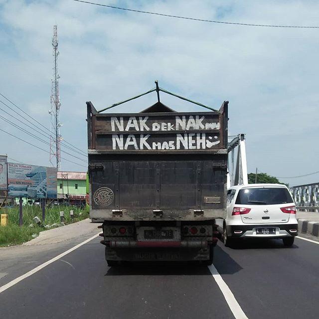 #NakDek #NehMas #baktruk #platH #Kudus #Demak #Semarang #Pantura