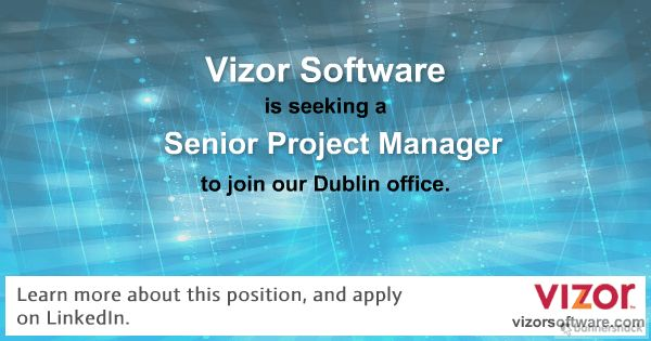 Vizor Software is currently seeking a full-time, Senior Project Manager to join our Product Delivery Team. Learn more about this position, and apply: https://www.linkedin.com/jobs/view/469657135/