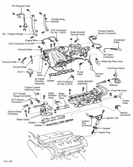 1995 Lexus Engine Diagram