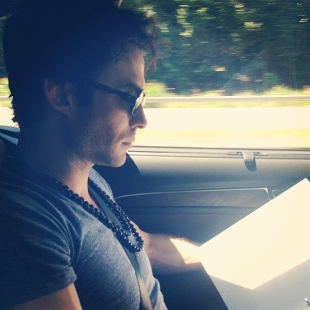 Ian Somerhalder - 24/08/13 - Prepping to rally with @kimodo007 thejram & @beyondcoal in beautiful Asheville, NC. Thank you @YearsLiving for capturing this story & a huge thank you to @JimEllisAudi & Audi for getting us there safely with the help of clean diesel #youthvscoal #jramphotocred  http://instagram.com/p/dZ9_DKqJ3k/ - Twitter & Instagram Pictures http://instagram.com/iansomerhalder/#
