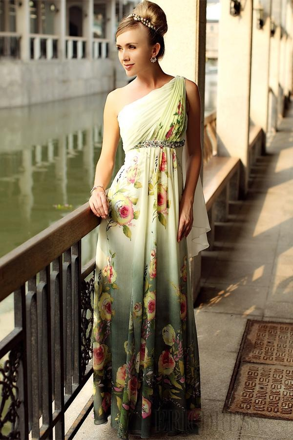 Long evening dresses italy