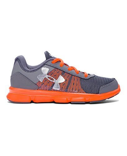 Under Armour Little Boys' Pre-School UA Speed Swift Running Shoes 3 Graphite