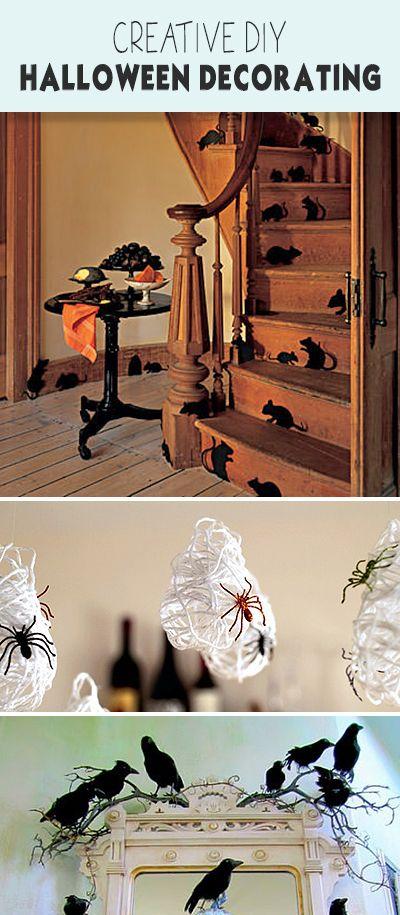 creative diy halloween decorating projects