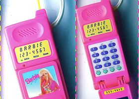 How Many Of These '90s Girl Toys Did You Own? I'll never forget when my phone like this got ran over, I had gotten it for my birthday I think that night?! I also got candy land that birthday so it was okay.