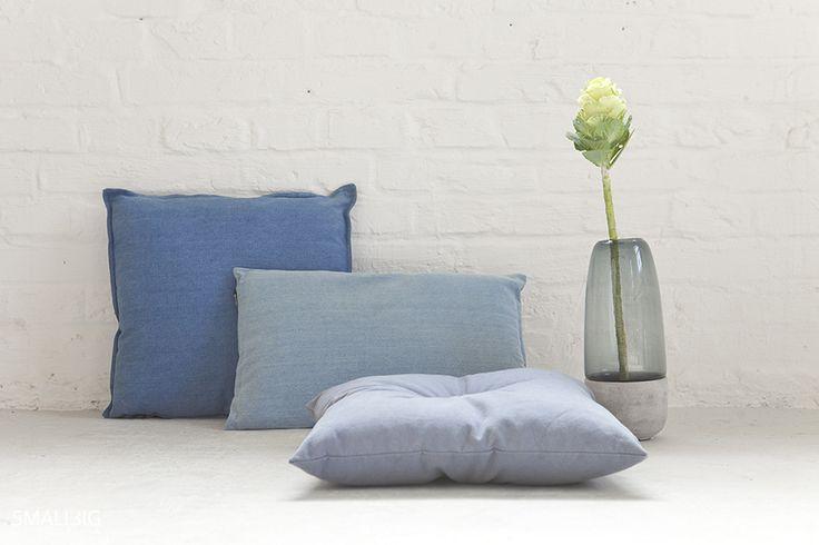 © smallbigidea.com denim cushions and cabbage.