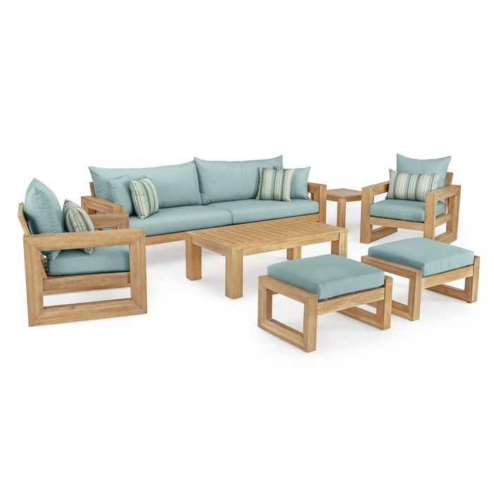 Mcclain 8 Piece Sunbrella Sofa Seating