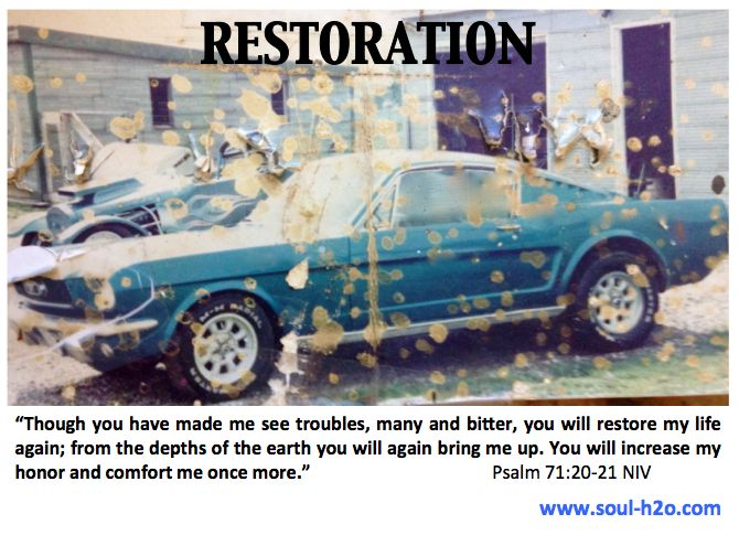 Check Out Today's Blog Post on #Restoration Ps 71:20-21