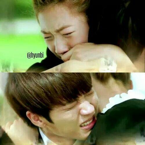 KIM SAE RON AND NAM WOO HYUN