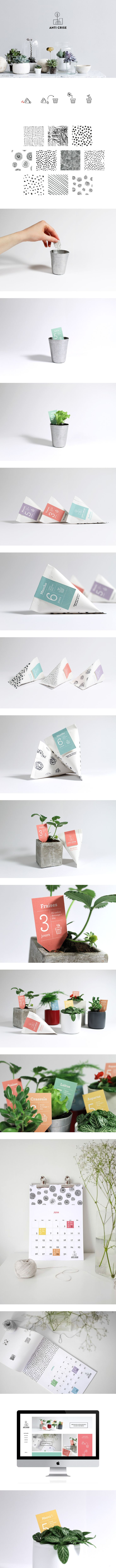 Anticrise - Jardin intérieur branding