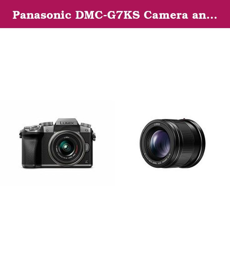 Panasonic DMC-G7KS Camera and H-HS043K Lens Bundle. Superb DSLM image quality without the bulk and weight of traditional DSLRs. Never miss a photo with three unique 4K Ultra HD Video pause and save 4K Photo Modes. Fast and precise auto focusing tracks the subject. Class-leading, ultra-compact, interchangeable lens and accessory options. Perfect for low light photography with a bright F1.7 aperture. 31cm Closest Focusing Distance. Power O.I.S. (Optical Image Stabilizer) / 240fps Drive AF....
