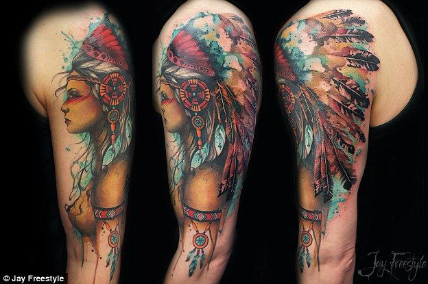 1000 ideas about american indian tattoos on pinterest for Native american woman tattoo