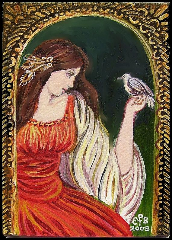 Charge of the Mistress  Renaissance Goddess Art by EmilyBalivet, $5.00