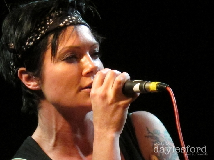 Sarah McLeod performing at the Palais in Hepburn Springs Aug 2012