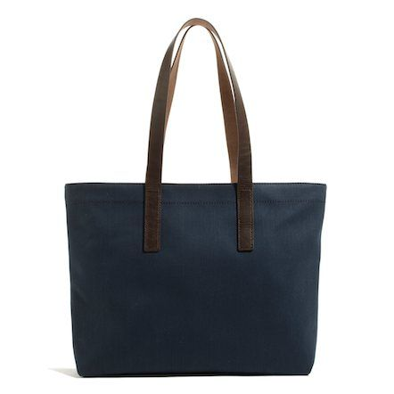 The Twill Tote - Bright Navy | Everlane