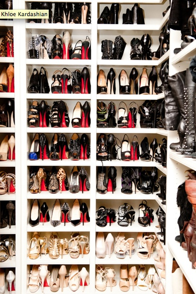 Dream. Notice how 75% of the shoes are black? This could so be my closet!!