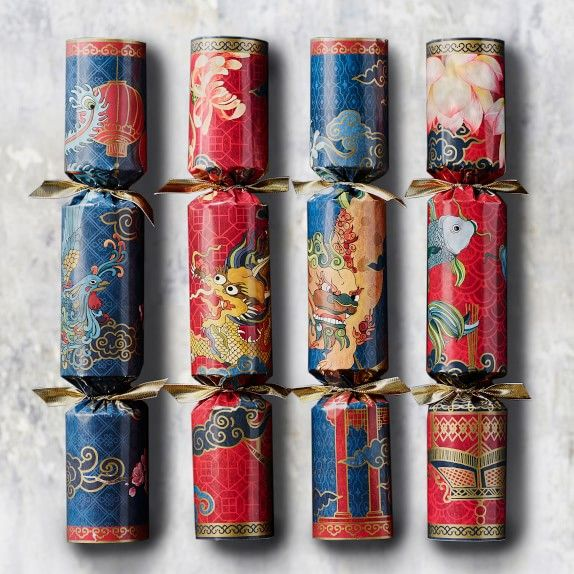Williams Sonoma Christmas Crackers.Zodiac Crackers Set Of 12 In 2019 Chinese Crackers