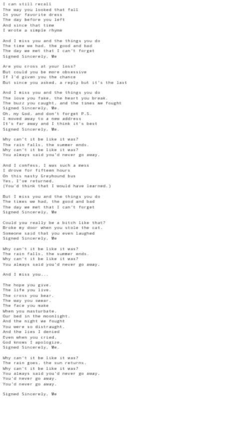 Songtext Zusammen