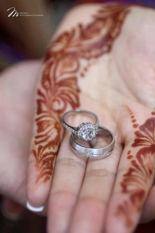 Mehndi Hands With Engagement Ring : Best images about middle eastern weddings on pinterest