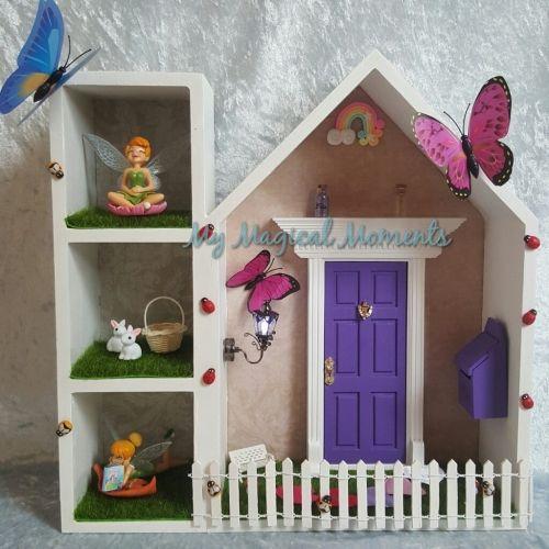 Kmart fairy elf house hack my magical moments for Fairy door kmart