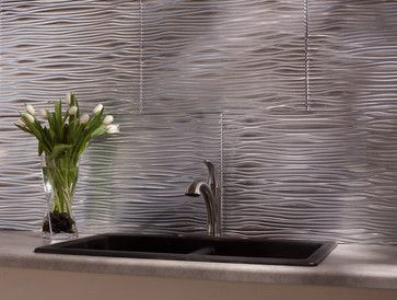 Modern Kitchen Tile modern backsplash styles - modern - kitchen tile - other metro