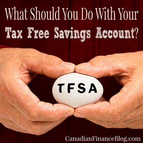 What Should You Do With Your Tax Free Savings Account? - http://canadianfinanceblog.com/should-do-your-tax-free-savings-account/