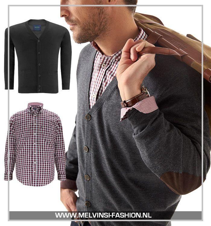 Een vest met buttons.. oubollig? Dat hoeft absoluut niet! Combineer het met een mooie najaarskleur en donkere jeans voor een stoere look!