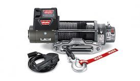 WARN XD9000 Synthetic Rope Winch