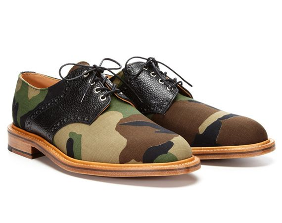 Mark McNairy – Woodland Camo Derby Lace-Ups Shoes | PARK & BOND Exclusive |