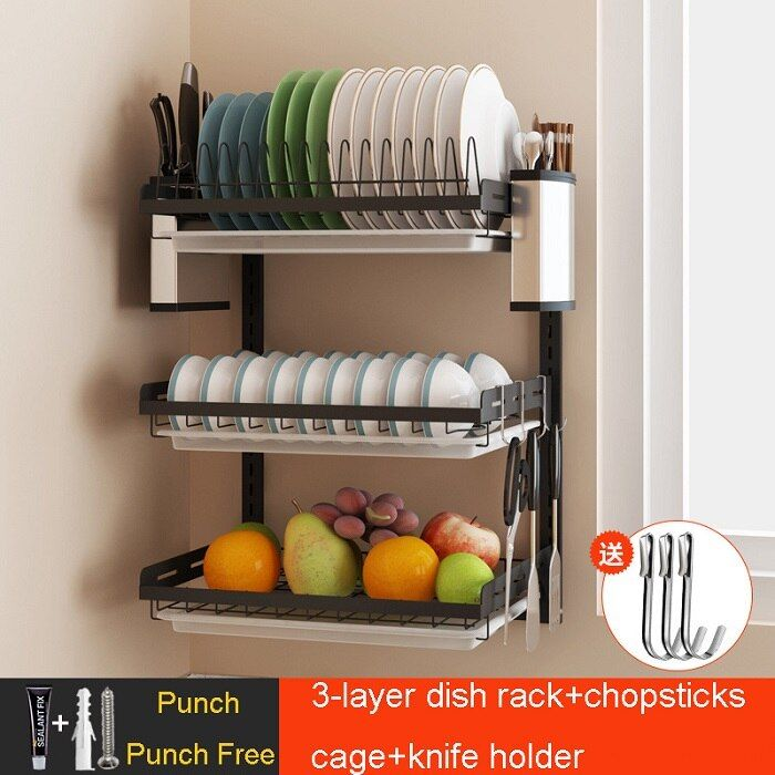 estante de almacenamiento de bandejas y bandejas para hornear organizador de utensilios de cocina Bastidores de almacenamiento de cocina
