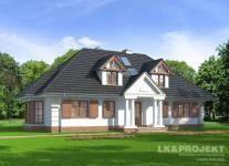 http://lk-projekt.pl/lkand605-produkt-642.html #tradycyjny #dom # projekt #architektura