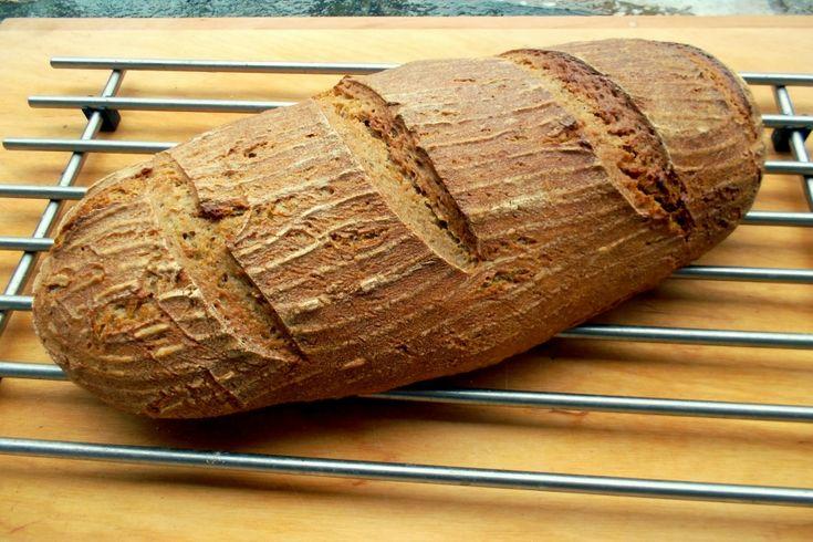 Český kváskový chléb