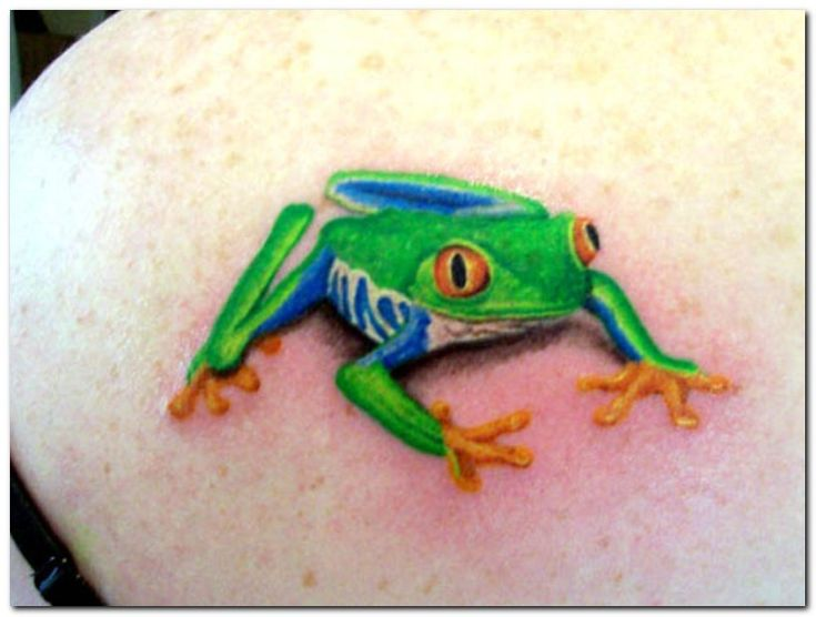 For Amy on Pinterest | Frog Tattoos Frogs and Tree Frog Tattoos