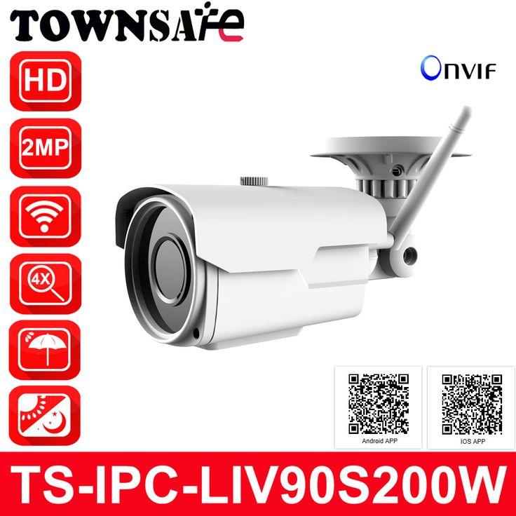 TOWNSAFE <b>New</b> TS-IPC-LIV90S200W <b>HD</b> 1080P 2MP Wifi ...