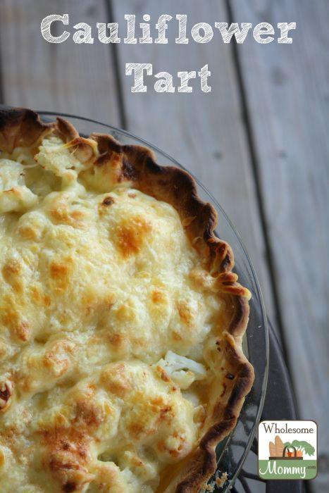 Cauliflower Tart recipe