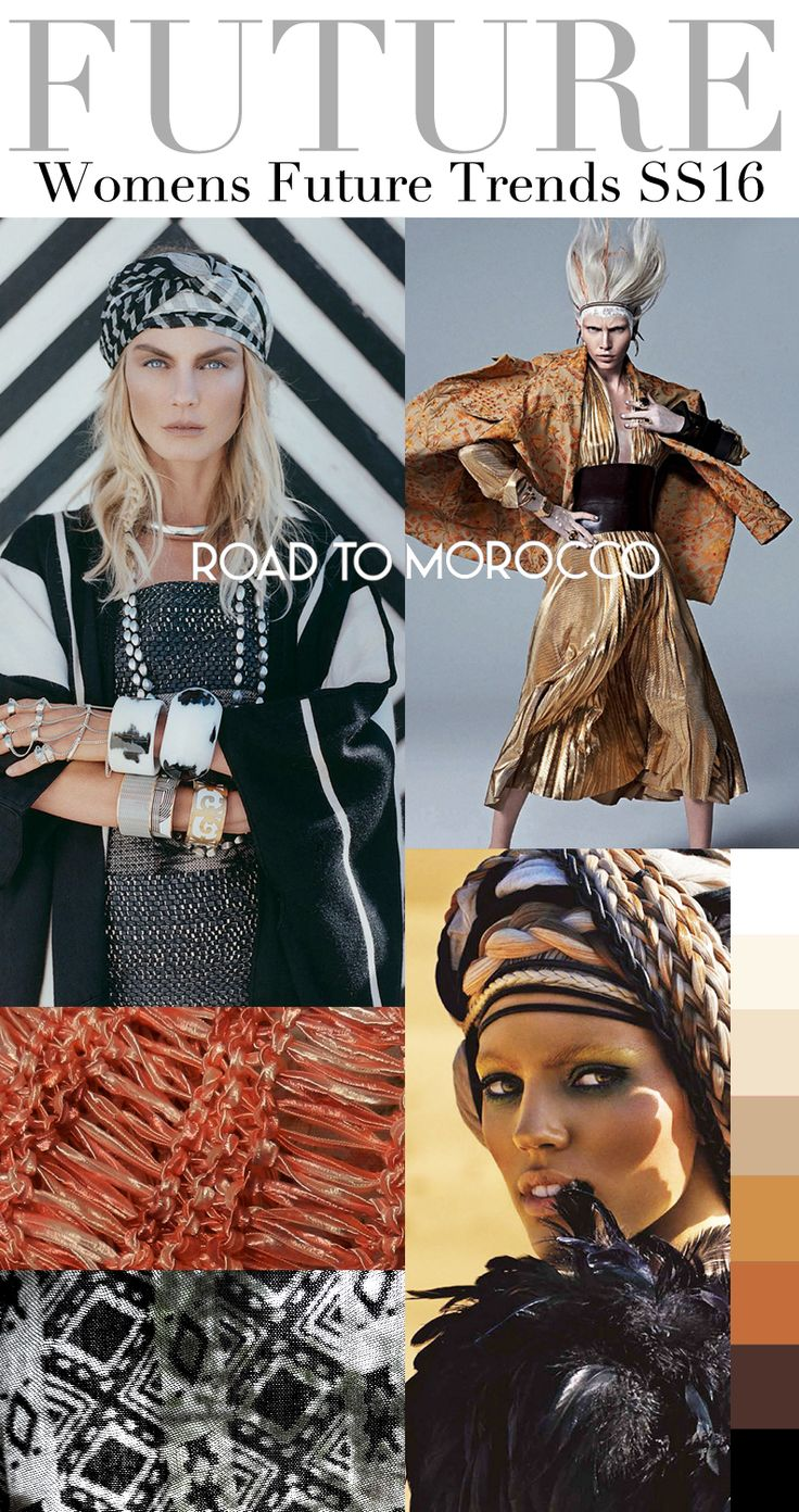 TREND COUNCIL SS 2016- ROAD TO MOROCCO #üçgengezegenler #fashion #trends