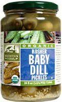 Woodstock Farms Organic Baby Kosher Dill Pickles ( 6x24 OZ) - http://goodvibeorganics.com/woodstock-farms-organic-baby-kosher-dill-pickles-6x24-oz/