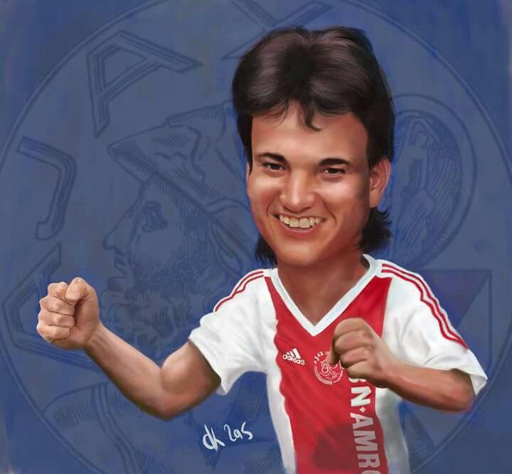 #JariLitmanen-#Ajax #caricature