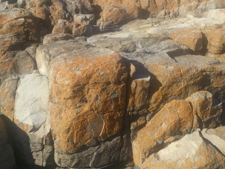 Rusty rocks