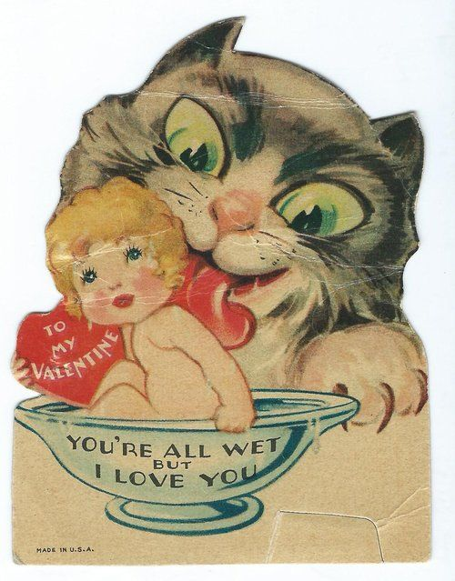 53 best Weird Vintage Valentine Cards images – Crazy Valentine Cards