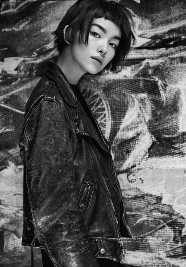 Fei Fei Sun by Hugh Lippe for Fat Magazine #4