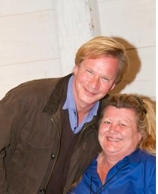 I love Annie & her Moo Poo Tea! ->P Allen Smith and Annie Haven of Authentic Haven Brand at Moss Mountain Garden Home