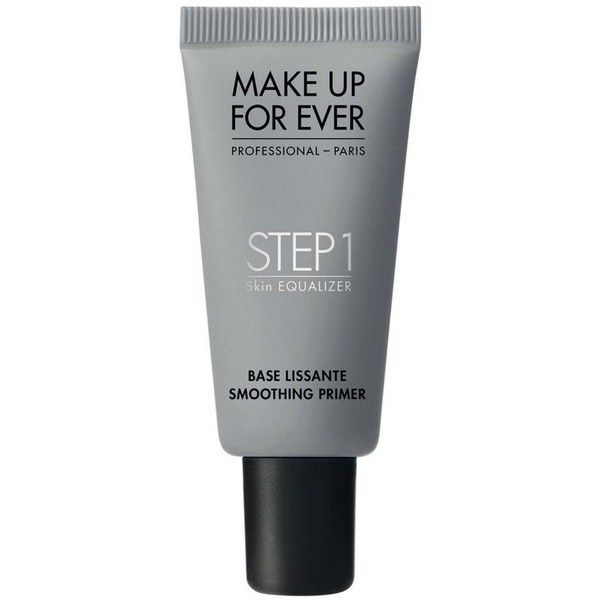 Make Up For Ever Step 1 Skin Equalizer Smoothing Primer 15ml ($120) ❤ liked on Polyvore featuring beauty products, makeup, face makeup, makeup primer and make up for ever