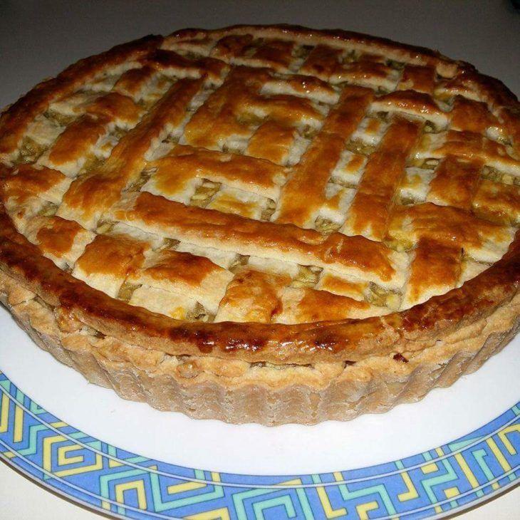 Rácsos almás pite kalóriaszegény változatban