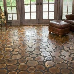 Logs & Twigs Flooring, would love it in the basement game room area.