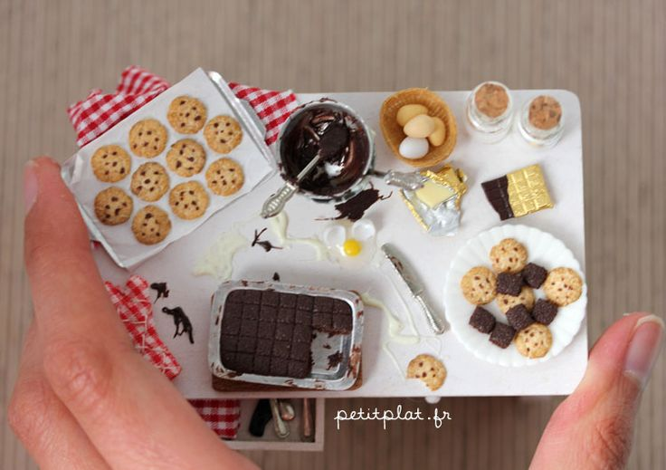 Miniature Baking Day Table - Sizeby ~PetitPlat