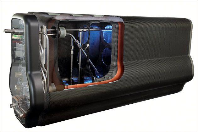 Ein neuer Flüssigwasserstoff-Tank soll die notorischen Speicherprobleme lösen