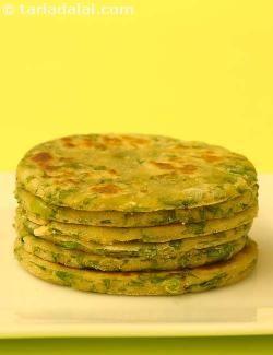Paushtic Roti recipe   Healthy Recipes   by Tarla Dalal   Tarladalal.com   #727
