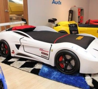 Car Themed Twin Bed