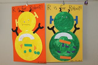 Cute Robot Crafts and Ideas